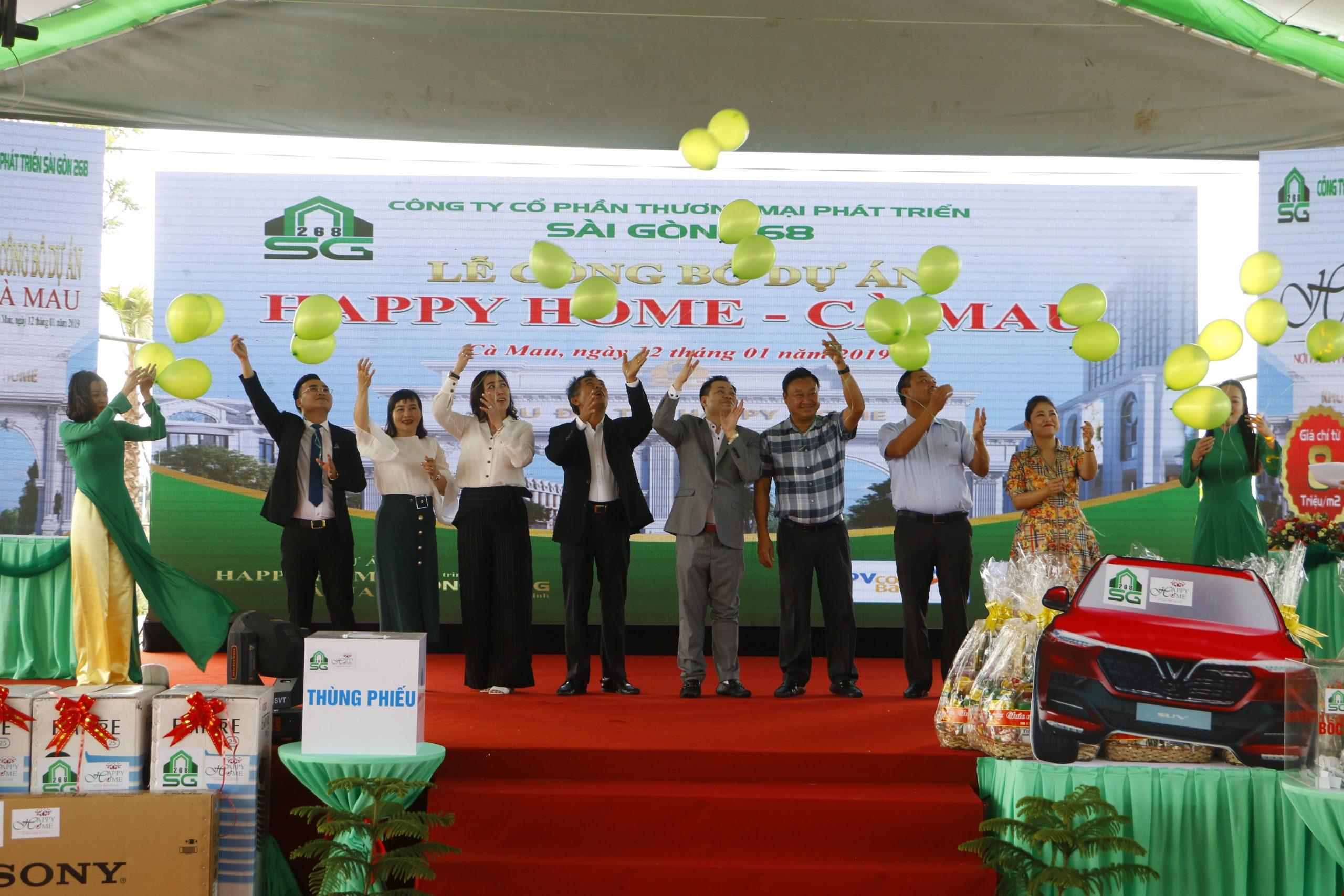 Happy Home Cà Mau Mở Bán Đợt 2 Tạo Cú Hích Đầu Năm 2019 Cho Thị Trường Bất Động Sản Cà Mau