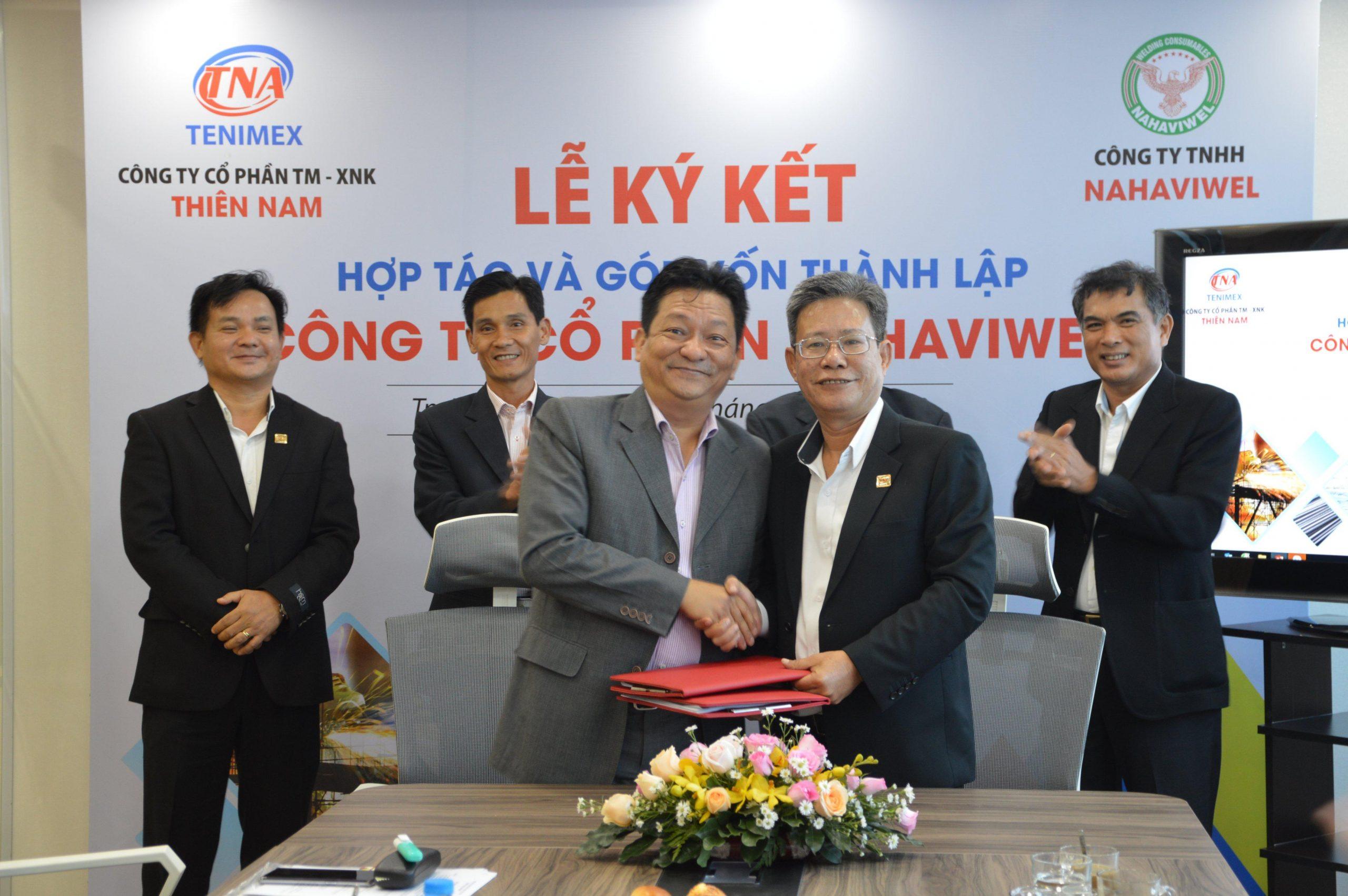 Thiên Nam Và Nahaviwel Ký Kết Hợp Tác Khai Thác Thị Trường Vật Liệu Hàn