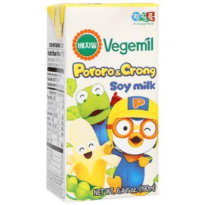 Sữa đậu nành Pororo & Crong hương chuối Vegemil