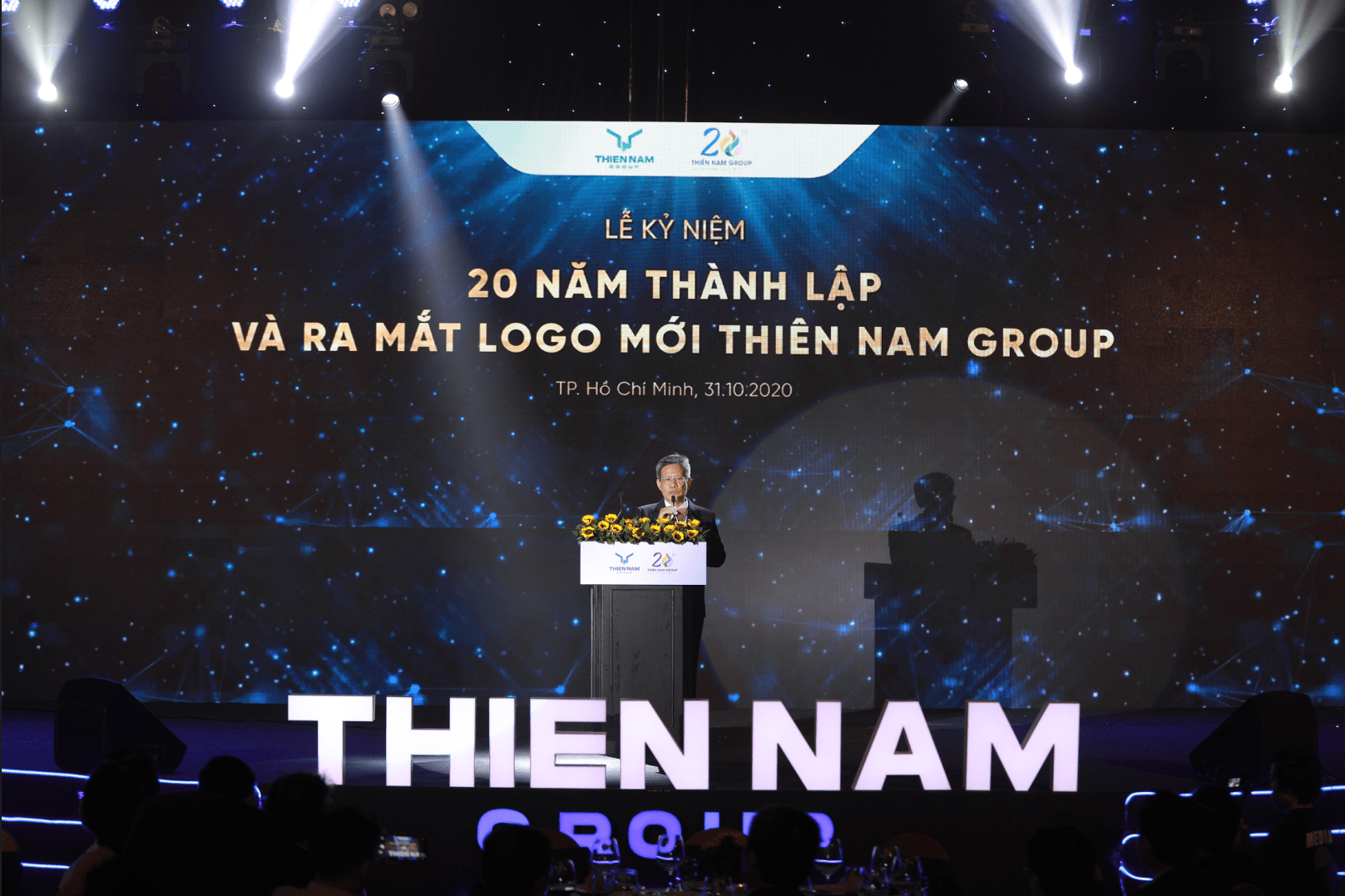 THIEN NAM GROUP ANNOUNCE HAPPY 20 YEARS OF ESTABLISHMENT AND CONVERSION OF NEW LOGO