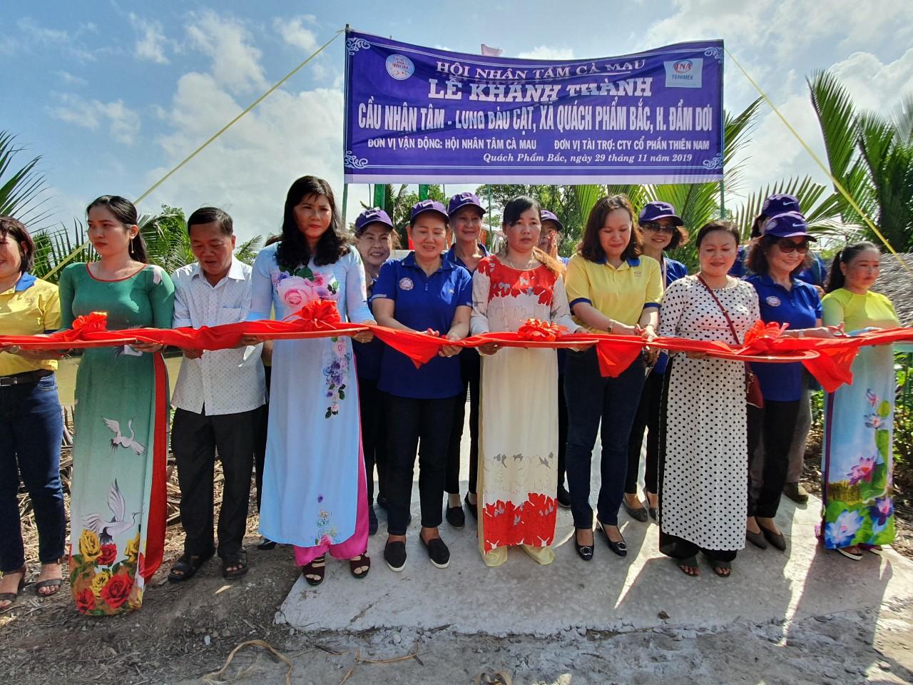 Thiên Nam Group Đóng Góp Xây Cầu Đồng Hương Tại Cà Mau
